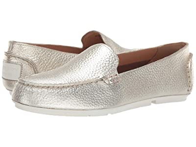 Sperry Bay View Slip-On Leather (Platinum) Women