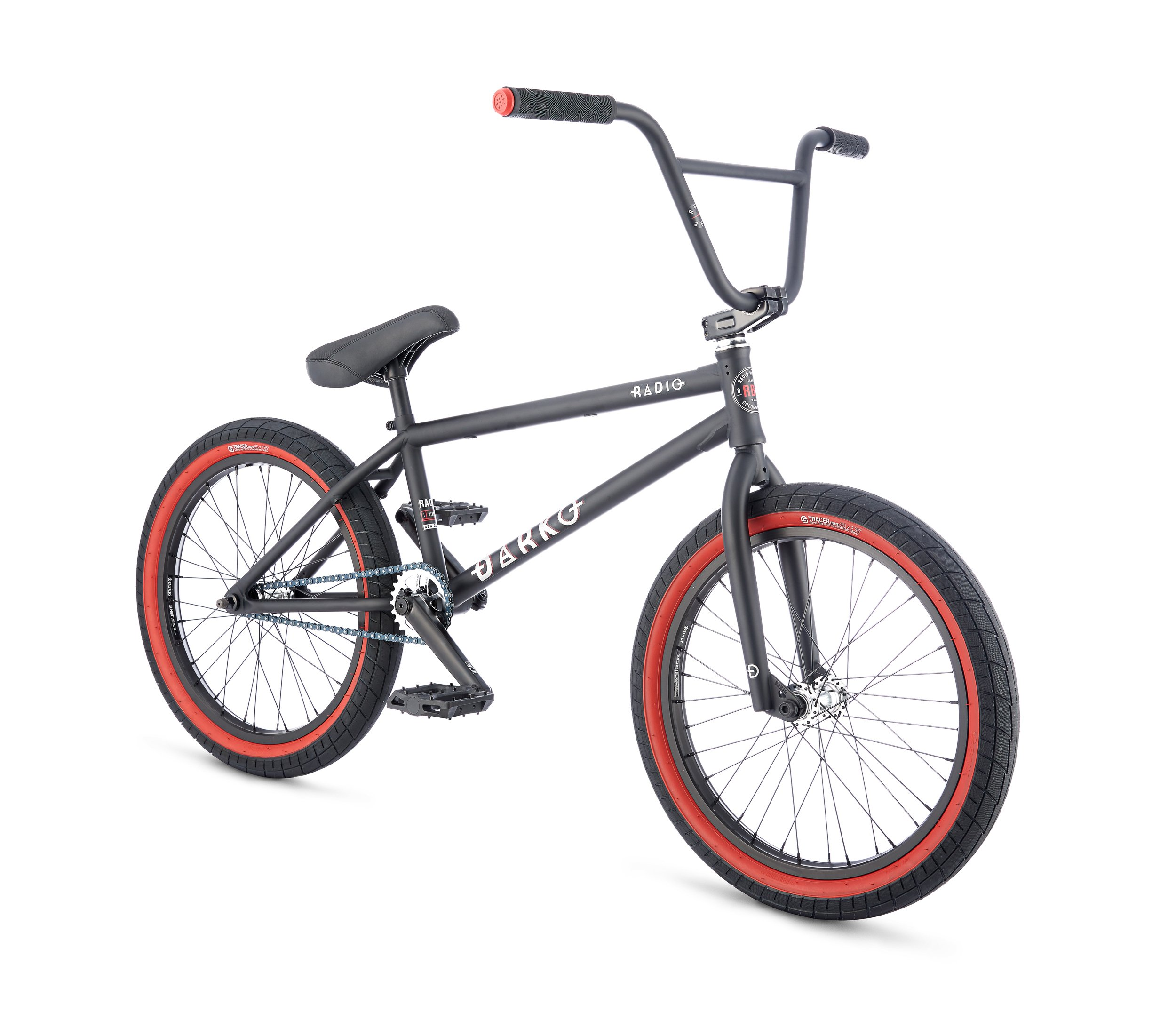 Radio Bikes Darko Bicicleta BMX, Unisex Adulto, Negro, 21: Amazon ...