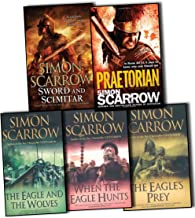 Simon Scarrow Roman Legion 11 5 Books Collection Pack Set RRP: £55.42 Praetorian, When the Eagle Hunts P, The Eagle's Prey...