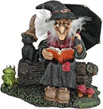 Design Toscano Bewitching Witches Book of Spells Statue