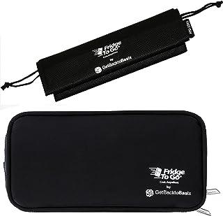 Fridge-to-go Insulin Cooler Travel Case Bag – Portable Storage Wallet for Cooling..