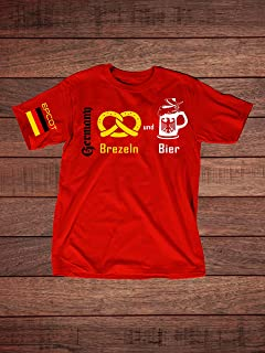 Pretzels and Beer EPCOT Germany Adult T-Shirt