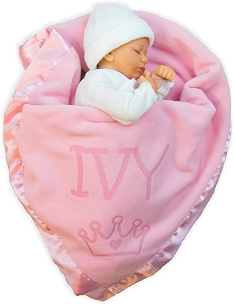 Custom Catch Princess Baby Blanket For Girls Toddler Girl Crib Bedding Receiving Blankets