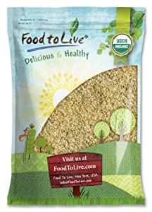 Organic Pre-Cooked White Quinoa, 8 Pounds - Cooked and then Dehydrated, Non-GMO, Vegan, Kosher, Bulk, High in Protein, Manganese, and Copper. Before Consumption, Add Hot Water and Wait 7 Minutes.