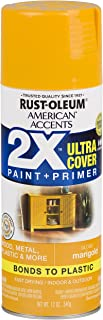 Rust-Oleum 327896-6 PK American Accents Spray Paint, Gloss Marigold