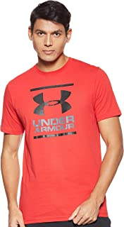 Under Armour Men's UA Gl Foundation Ss T T-Shirt, Red (Red), Medium