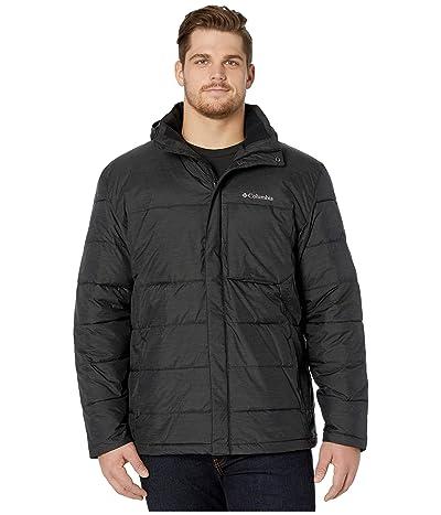 Columbia Big Tall Ridgeview Peaktm Hooded Jacket (Black) Men