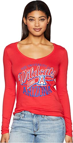 Arizona Wildcats Long Sleeve V-Neck Tee