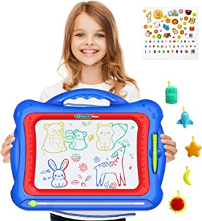Geekper Magnetic Drawing Board, Large 16 inch Magna Doodle Writing Painting Sketching Pad..