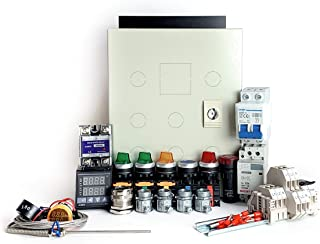 Powder Coating Oven Controller Kit w/ Light & Fan Control, 240V 30A 7200W (KIT-PCO201)