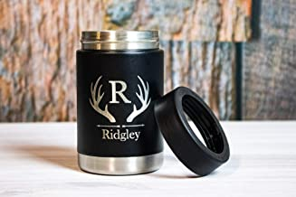 Personalized Engraved Stainless Steel Can Cooler, Can Coozies, Colster