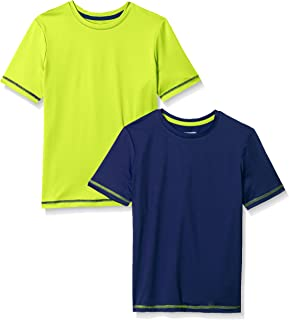 Amazon Essentials Boys' 2-Pack Short-Sleeve Basic Active Tee