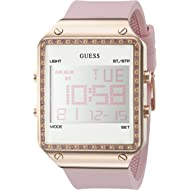 GUESS Women's Digital Silicone Watch