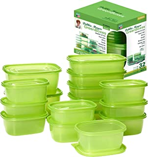 Debbie Meyer GreenBoxes, Food Storage Containers with Lids, Keep Fruits, Vegetables, Baked Goods & Snacks Fresher Longer! ...