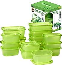 Debbie Meyer GreenBoxes 32 Piece Set – Keeps Fruits, Vegetables, Baked Goods and Snacks Fresh Longer, Reusable, BPA Free, ...