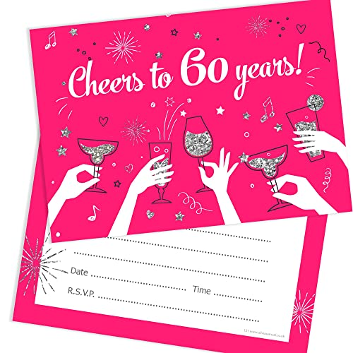 Olivia Samuel 60th Birthday Party Invitations