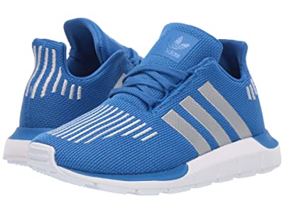 adidas Originals Kids Swift Run C (Little Kid) (Blue/Silver/Black) Boys Shoes