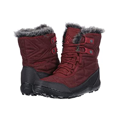 Columbia Minx Shorty III Santa Fe (Deep Rust/Marsala Red) Women