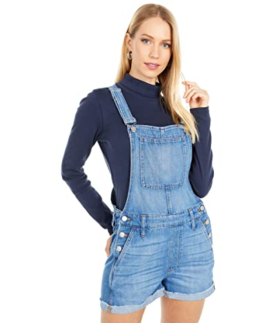 Madewell Adirondack Short Overalls in Denville Wash (Denville Wash) Women