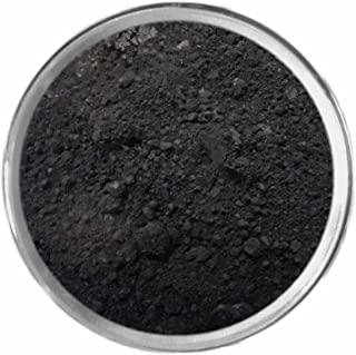 Black Loose Powder Mineral Matte Multi Use Eyes Face Color Makeup Bare Earth Pigment Minerals Make Up Cosmetics By M*A*D Minerals Cruelty Free - 10 Gram Sized Sifter Jar