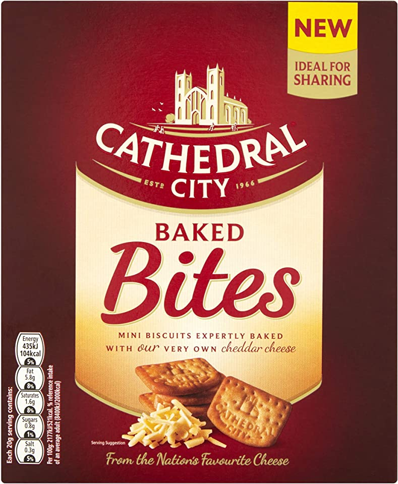 Cathedral City Baked Bites Sharebox, 140g