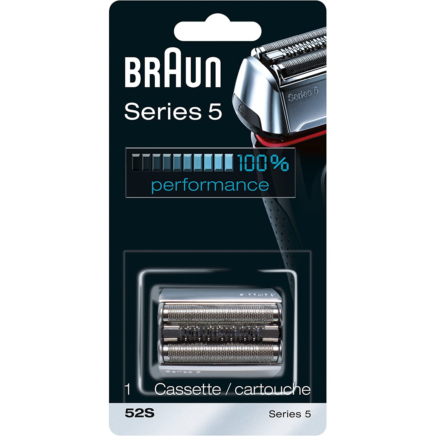 Braun Series Max Selling rankings 55% OFF 5 52S Electric Cassette Shaver Head âReplacement