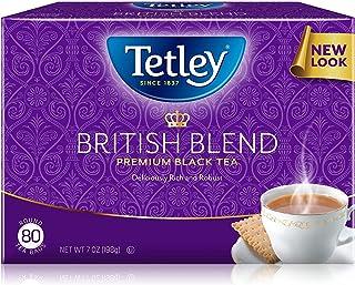 Tetley British Blend Premium Black Tea, 7 Ounce (Pack of 6) - Packaging May Vary