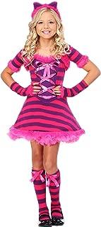 Kid's Wonderland Cat Costume Sassy Wonderland Cat Costume for Girls