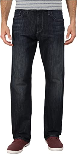 Mavi Jeans Matt Mid Rise Relaxed Straight in Deep Stanford