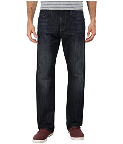 Mavi Jeans Matt Mid Rise Relaxed Straight in Deep Stanford (Deep Stanford) Men