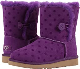 UGG Kids - Bailey Button Polka Dot (Little Kid/Big Kid)