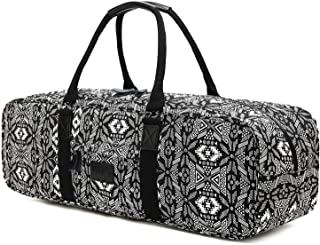 Boence Yoga Bag,  Printed Canvas Large Yoga Mat Tote Bag Sport Gym Storage Bag - Size 27x8x8
