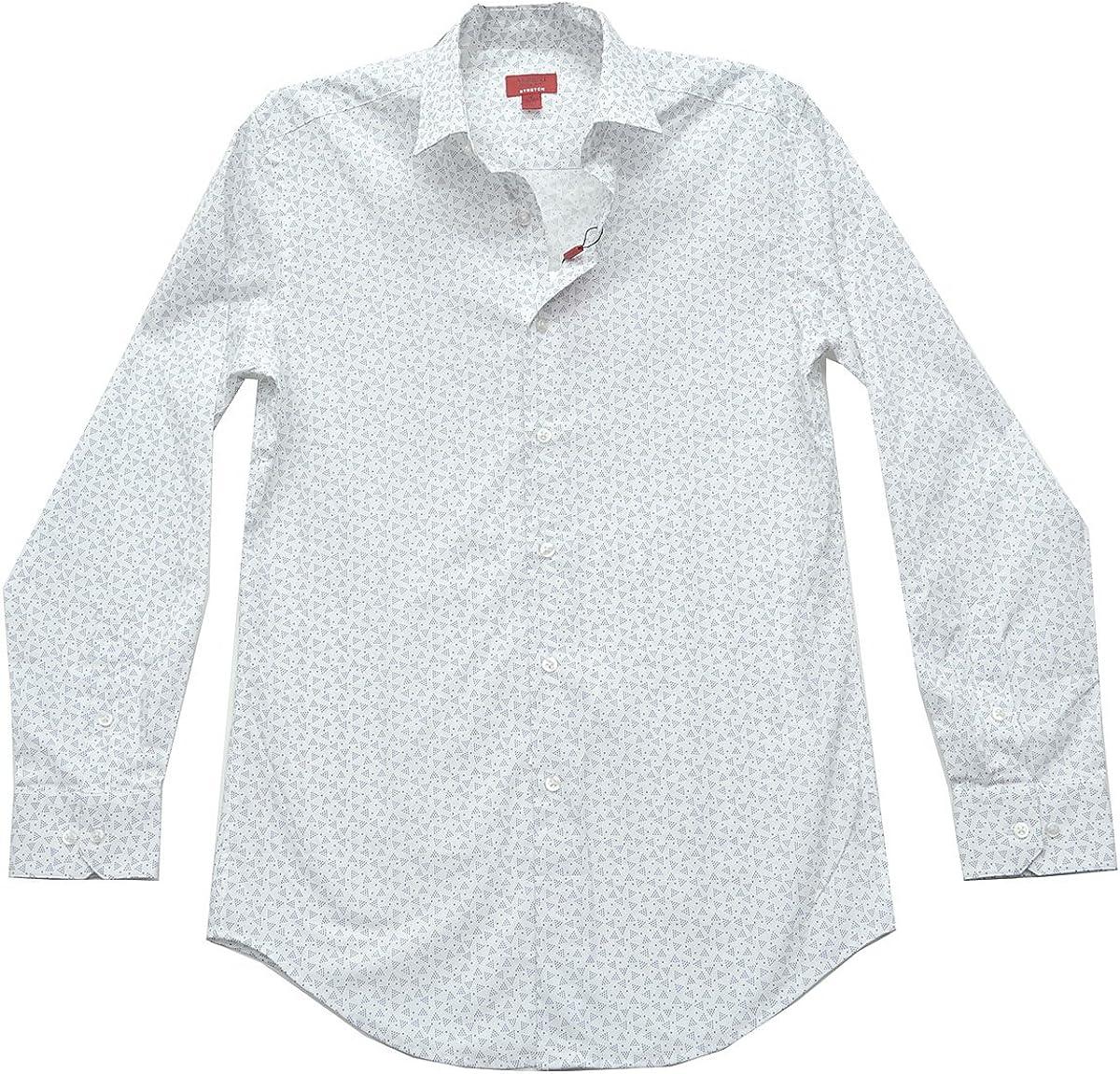 Alfani Red Label Slim Fit Men Long‑Sleeve Dress White Shirt Small 14-14.5-32/33