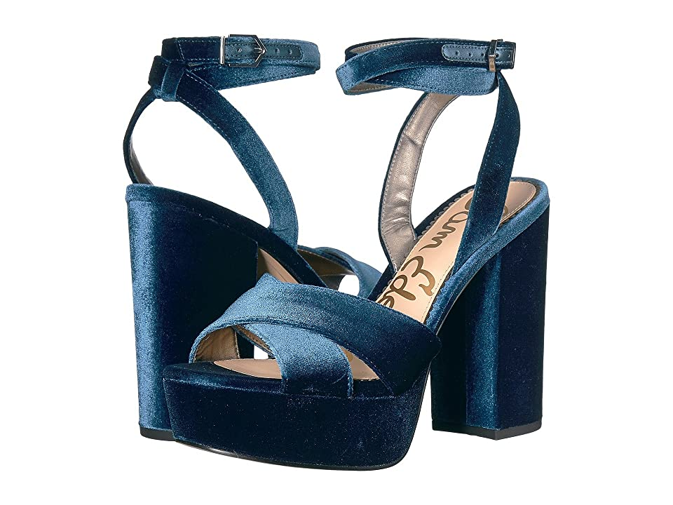 Sam Edelman Mara (Jewel Blue Silky Velvet) Women