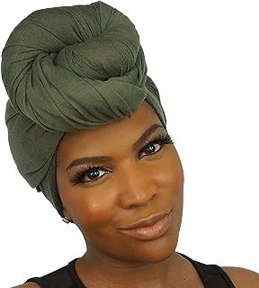 Headwraps for women Turbans Long Stretch Head wrap Scarf by The Urban Turbanista