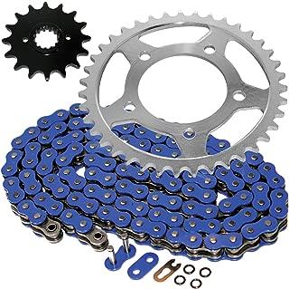 Caltric O-Ring Blue Drive Chain & Sprockets Kit Fits SUZUKI GS500F GS-500F 2004-2009