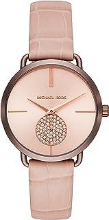 MICHAEL KORS Women's MK2721 Year-Round Analog-Digital Quartz Pink Band Watch