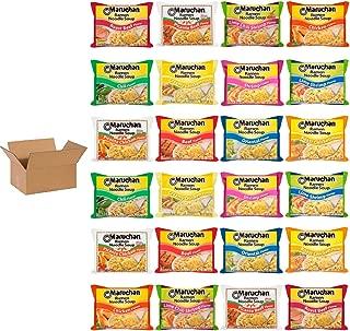 Maruchan Ramen 12 Flavor Variety Pack of 24