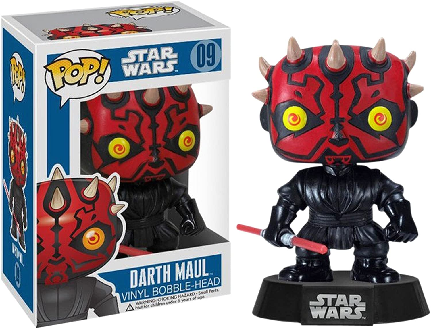 Funko Pop Vinyl Figure Darth Maul 2390 Luke Darth Vader by Yele 128