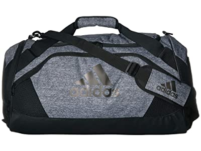 adidas Team Issue II Medium Duffel (Onix Jersey) Duffel Bags
