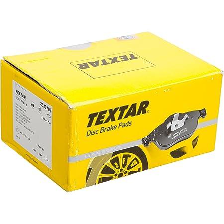 Textar 2328702 Bremsbelagsatz Scheibenbremse Auto