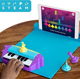 Shifu Plugo Tunes - Piano Learning Kit (App Based) Musical STEAM Toy for Ages 5-10 - Educational Music Instruments Gift for Boys & Girls - (iOS / Android Devices)