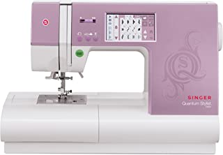 SINGER   Quantum Stylist 9985 Computerized Portable Sewing Machine with 960-Stitches Including Built-in Lettering,Interactive Color-Touch LCD Screen, Bonus Accessories, makes Customizing Projects Easy
