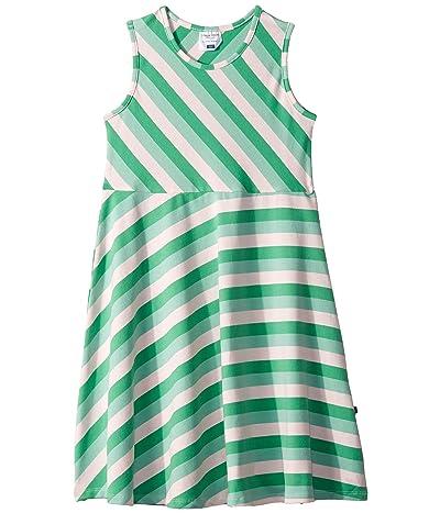 Toobydoo Skater Dress (Toddler/Little Kids/Big Kids) (Multicolored Stripe) Girl