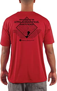 American Backcountry Appalachian Trail Men's UPF 50+ Short Sleeve T-Shirt