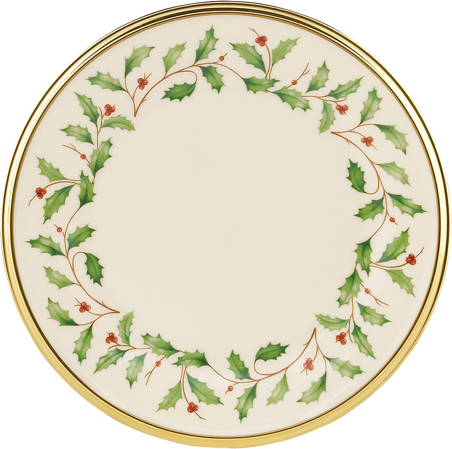 Lenox Holiday Bread Mail order Direct sale of manufacturer Butter Inches 6 Plate