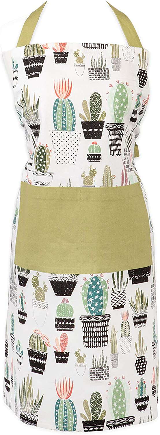 DII Oasis Collection Urban Max 77% OFF Apron Cactus Super beauty product restock quality top!