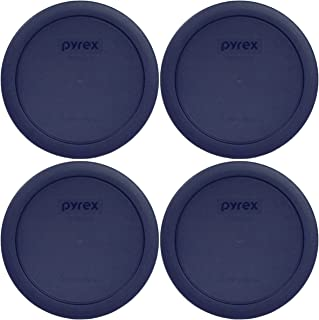Pyrex Blue 4 Cup Round Plastic Cover #7201-PC (4)