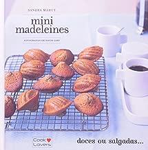 Kit Maleta Cook Lovers 2 Livros Mini Madeleines + Atelier Do Chocolate. Com Luvas Térmicas