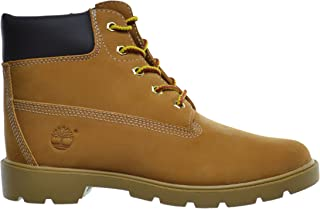 Big Kids 6 Inch Basic Waterproof Boots Wheat 10960